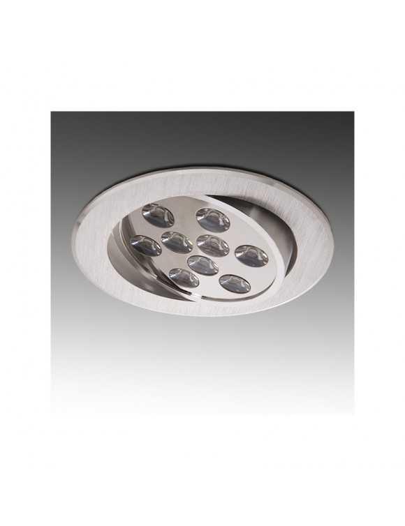 Foco Downlight de LEDs ECOLINE Circular 9W 900Lm 30.000H