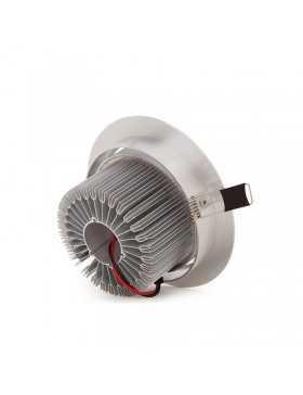 Foco Downlight de LEDs ECOLINE Circular 12W 1200Lm 30.000H