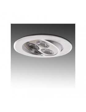 Foco Downlight de LEDs ECOLINE Circular 3W 300Lm 30.000H