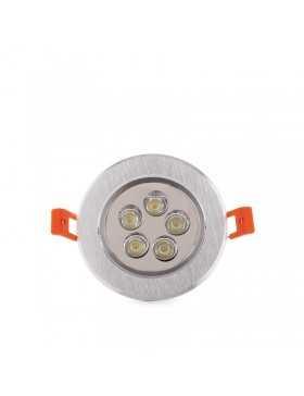 Foco Downlight de LEDs ECOLINE Circular 5W 500Lm 30.000H