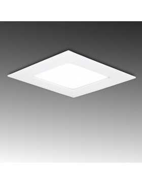 Placa de LEDs Cuadrada ECOLINE 120mm 6W 400Lm 30.000H