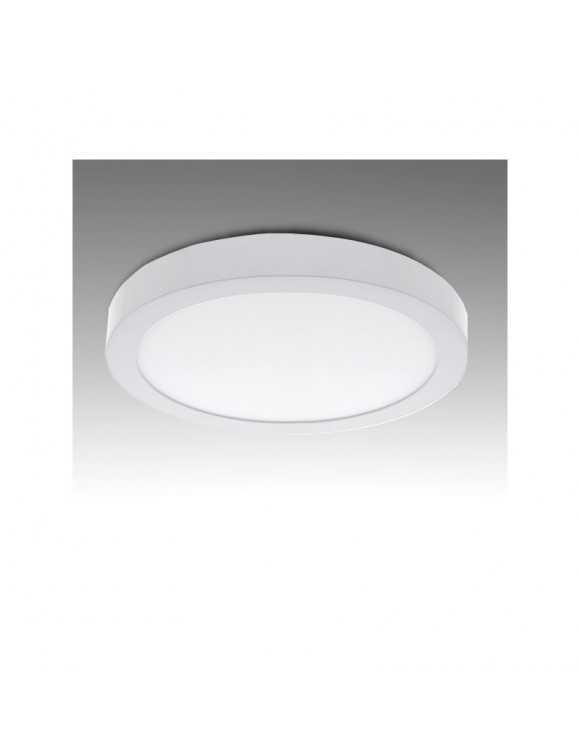 Plafón de Techo de LEDs Circular de Superficie Ø169mm 12W 930Lm 30.000H