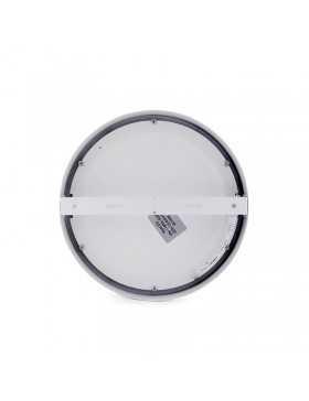 Plafón de Techo de LEDs Circular de Superficie Ø225mm 18W 1190Lm 30.000H