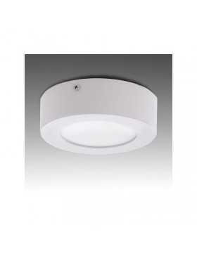 Plafón de Techo de LEDs Circular de Superficie Ø120mm 6W 470Lm 30.000H