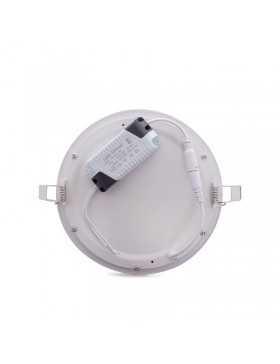 Placa de LEDs Circular ECOLINE 192mm 15W 1170Lm 30.000H