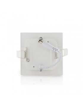 Placa de LEDs Cuadrada ECOLINE 85x85mm 3W 230Lm 30.000H
