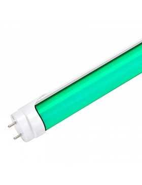 Tubo de LEDs 1200mm 18W 30.000H Difusor Opal Color Verde