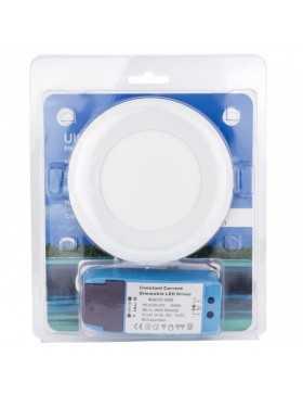 Placa de LEDs Ultrafina de Superfice para Muebles 4,5W 360Lm con Driver Dimable