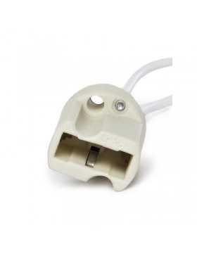 Portalámparas Cerámico G9 Cable 160mm 180ºC