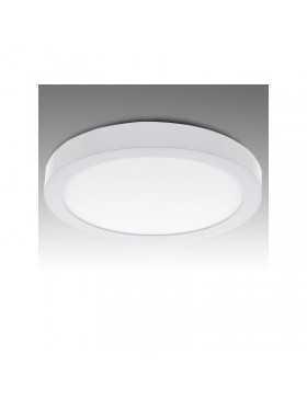 Plafón de Techo de LEDs Circular de Superficie Ø295mm 24W 1900Lm 30.000H