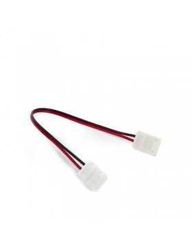 Conector Tira LED SMD3528/2835 2 Vías Doble 12/24VDC