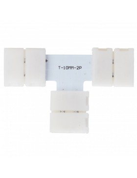 Conector Rápido T Tira LED 12/24VDC SMD5050/5630