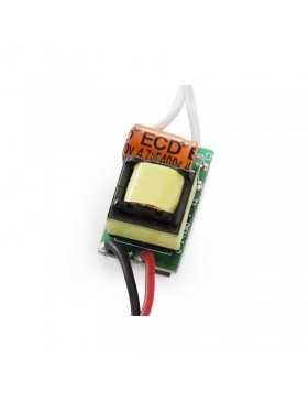 Driver LED Integrar 4-5W 12-16V 280-300Ma