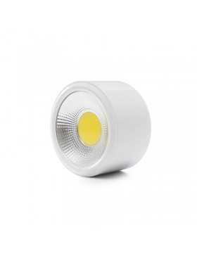 Foco Downlight  de Superfice LED COB IP54 12W 960Lm 30.000H