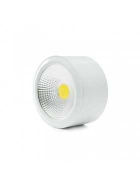 Foco Downlight  de Superfice LED COB IP54 7W 560Lm 30.000H