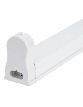Luminaria Aluminio Eco 1 X Tubo LED T8 60Cm Conexión Un Extremo