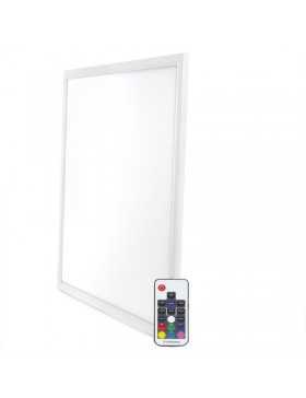 Panel LED RGB 30W con Control Remoto 60x60Cm