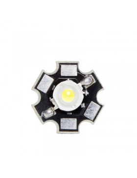 LED High Power 35X35 con Disipador 1W 120Lm 50.000H
