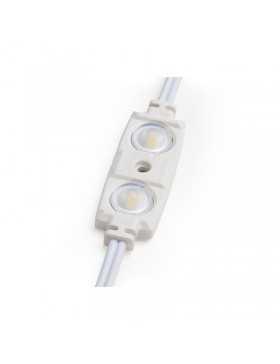 Módulo 2 LEDs Samsung 5630 Inyectado IP67 Óptica 1,2W 70Lm