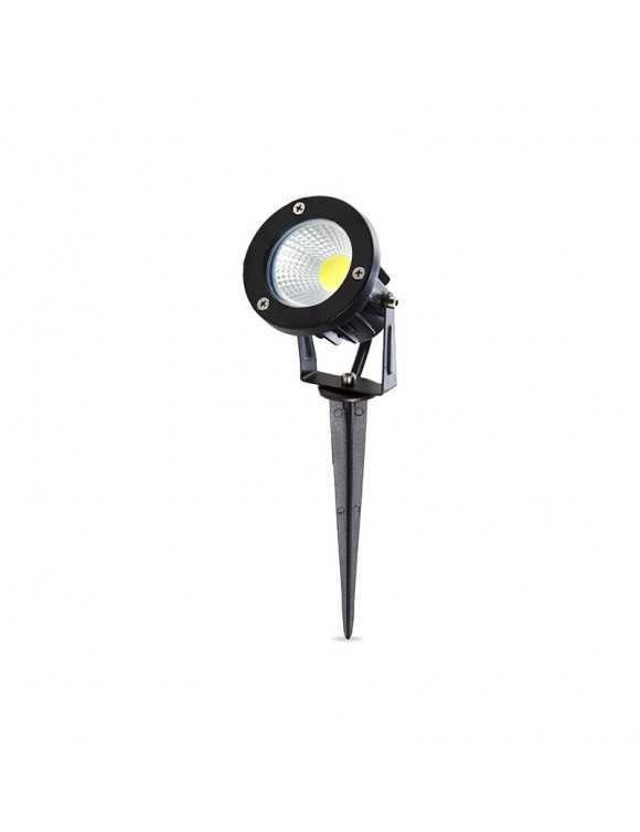 Foco LED con Pincho para Jardínes 7W 630Lm 50.000H