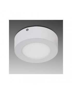 Plafón de Techo de LEDs Circular de Superficie Ø120mm 12VDC 6W 470Lm 30.000H