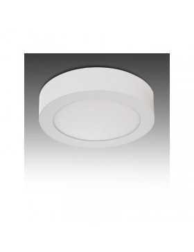 Plafón de Techo de LEDs Circular de Superficie Ø169mm 12VDC 12W 930Lm 30.000H