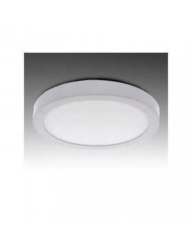 Plafón de Techo de LEDs Circular de Superficie Ø225mm 12VDC 18W 1190Lm 30.000H