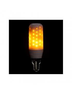 Bombilla de LEDs E14 Efecto Llama 3W 25000H