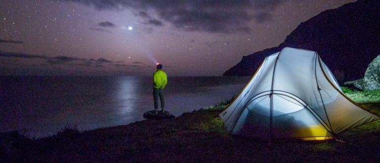 Iluminación Led para un camping